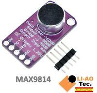 MAX9814 Microphone Amplifier Board Module Auto Gain Control AGC Electret MAX4466
