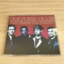 Culture Club _ Your Kisses Are Charity _ CD Maxi 4 Tracce _ 1999 Virgin NM