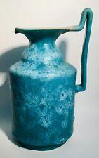 CAS Solimene Vietri Italian ceramic lava vase jug contemporary modernist design