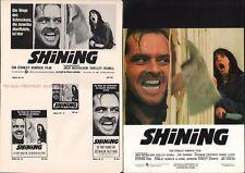 Stanley Kubrick - Jack Nicholson - The Shining * Rare German Press Campaign