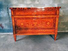 Elegante Cassettone Luigi XVI Intarsiato-Restaurato (in corso d'opera)