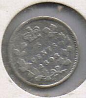 1898 Canada Silver Five Cents