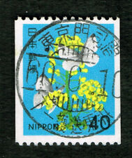 JAPAN 40Y rape blossoms and cabbage butterfly Railway Tokyo-Moji 東京門司間 1985 Cxl
