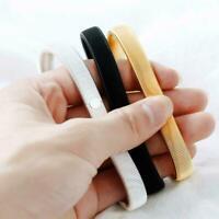 1Pc Männer Metallfeder Armband Armband Stulpe Band Ketten Geschenke Stretch K6K9