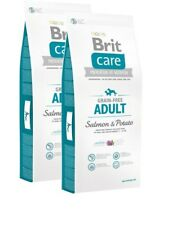 2x12kg Brit Care Adult Salmon & Potato All Breed getreidefrei Hundefutter