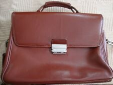 Hartmann belting leather briefcase