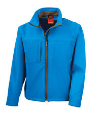 Result Mens Breathable Waterproof 8000mm Soft Shell Jacket with Inner Fleece