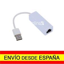 Adaptador Conversor USB Macho Red Ethernet RJ45 Tarjeta Red LAN 10 / 100Mb a0079