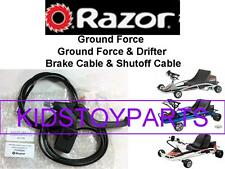 Razor Ground Force Drifter Fury Go Cart Brake Lever Steel Cable & Shut Off Cable