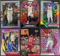 Lot of (6) Patrick Beverley, Including Prizm red /125, Optic/Prizm silver, UD RC