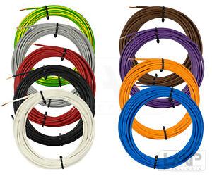 (0,29€/m) 10m 1,5 mm² H07V-K flexible Litze Kabel Einzelader Leitung Draht