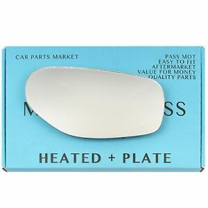 Right side Wing mirror glass for TVR chimaera Griffith 1992-03 heated +plate