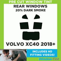 Pre Cut Window Tint - Volvo XC40 2018+ - 20% Dark Rear