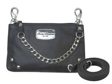 Harley-Davidson Womens Chain Gang Detachable Strap Leather Hip Bag CG2364L-BLACK