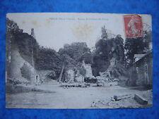 PANCE  :  Ruines du Chteau du Fretay.