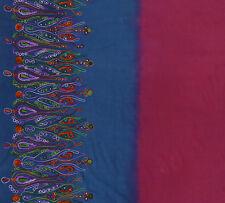 Blaue 110 cm Breite Designer Stoff Bestickt Nähen Stoff Gewebe By The Meter