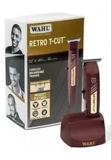 Wahl Professional 5-Star Series Cordless Retro T-Cut Trimmer #8412  Great for...
