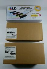 TN-115 Magenta, TN115Y Yellow, TN115C Cyan Laser Toner Cartridges for Brother
