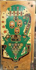 Bally Eight Ball pinball Playfield. Cool Vintage artwork or restoration!