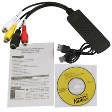 USB 2.0 Audio Video VHS to DVD PC Converter Capture Card Adapter win 7/8 64 32 L