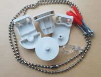 Replacement 28mm Roller Blind Repair Kit + Brackets and Chain UK STOCK