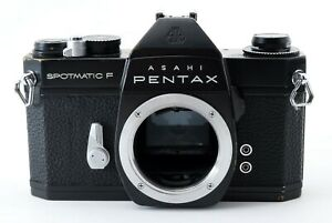 【 EXC+5 】  Asahi PENTAX Spotmatic SP F SLR Camera Black Body from Japan #P823549
