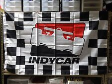 INDYCAR Checkered Flag Series Collector 3' x 5' Banner Indy 500 IRL Verizon