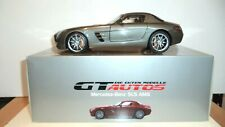 1/18 GT AUTOS/Welly Mercedes Benz SLS AMG Coupe Silver
