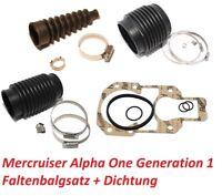 Faltenbalgsatz Mercruiser Alpha One inkl. Anbaudichtung Wartungs-Kit Z-Antrieb