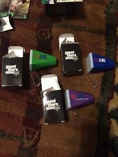 3x Grand Theft Auto V Viewfinder Key Ring GTA 5 Limited Edition Rare Promo