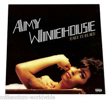 "SEALED & MINT - AMY WINEHOUSE - BACK TO BLACK - 12"" VINYL LP - RECORD ALBUM"