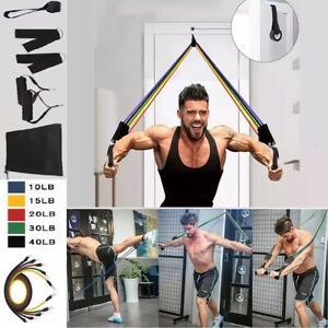 11Pcs Resistance Bands For Home Workout Exercise Yoga Crossfit Fitness Training