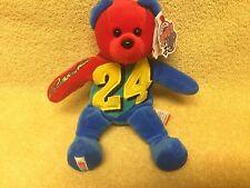 Nascar Jeff Gordon 24 Beanie Bear Team Baby Beans Plush 8 Signature Series