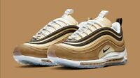 "Nike Air Max 97 ""UNBOXED"" Brown White 921826-201 Men's Shoes Multi Size NEW"