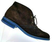 Donald J Pliner Elio Brown Suede Ankle Chukka Boots Men's US Size 10.5 M