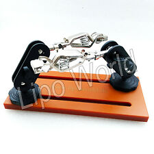 Lipo World RC JIG Löthilfe Montagehilfe Modellbau Löten Akku Kabel Stecker