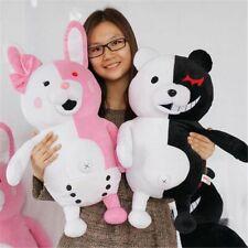 2x Game Danganronpa Monomi Rabbit Monokuma Bear Plush Toy Doll Kids Gift US