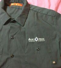 Blue Moon Brewing Company Dickies Men's Work shirt XL Charcoal