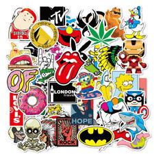100 X Random Cool Vinyl Decal Graffiti Sticker Bomb Skate Laptop PVC Stickers