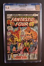 FANTASTIC FOUR #168 LUKE CAGE Power Man Joins 1976 THING Netflix TV CGC NM 9.4
