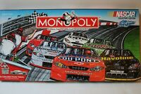 Monopoly Nascar Collector's Edition Nascar Monopoly Game Sam Bass Racing 2002