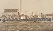 ANTIQUE UNIVERSITY OF WISCONSIN WI COLLEGE FOOTBALL HISTORY UNIFORMS RPPC PHOTO