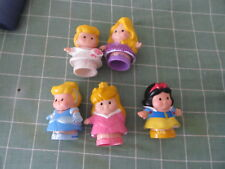 Disney Princess Fisher Price Little People lot of 5 Cinderella Snow White