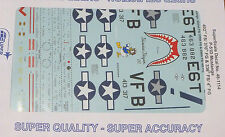 Microscale Decal 1:48 Scale #48-1114 / P-51D Mustangs: 402nd FS/ 370th FG &336th