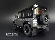 1/18 Kyosho Land Rover Defender 90 D90 Autobiography Edition Matte Grey / Black