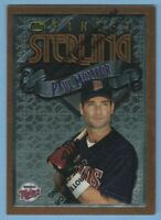 Paul Molitor 1996 Topps Finest #194 HOF Minnesota Twins