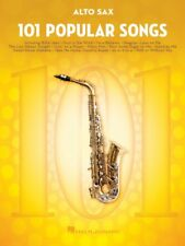 101 Popular Songs - Alto Sax Book *NEW* Sheet Music