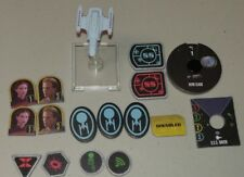 Star Trek Attack Wing (WizKids) OP Prize Ship USS Raven (used)