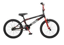 "Rooster Radical Kids 20"" Wheel Freestyle BMX Bike Bicycle Black Red Gyro RS114"