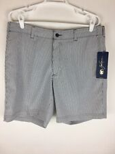 Jack Nicklaus Golf Shorts Men's Size 36 Active Waistband Uv50 Striped Nwt